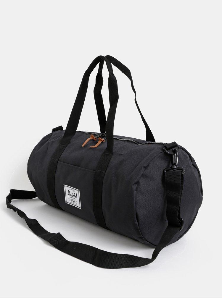 Černá cestovní taška Herschel Supply Sutton 28 l