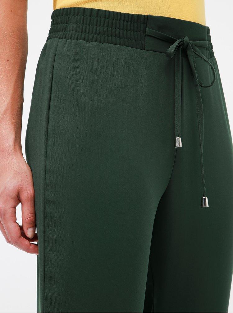 Kaki nohavice s vysokým pásom Dorothy Perkins