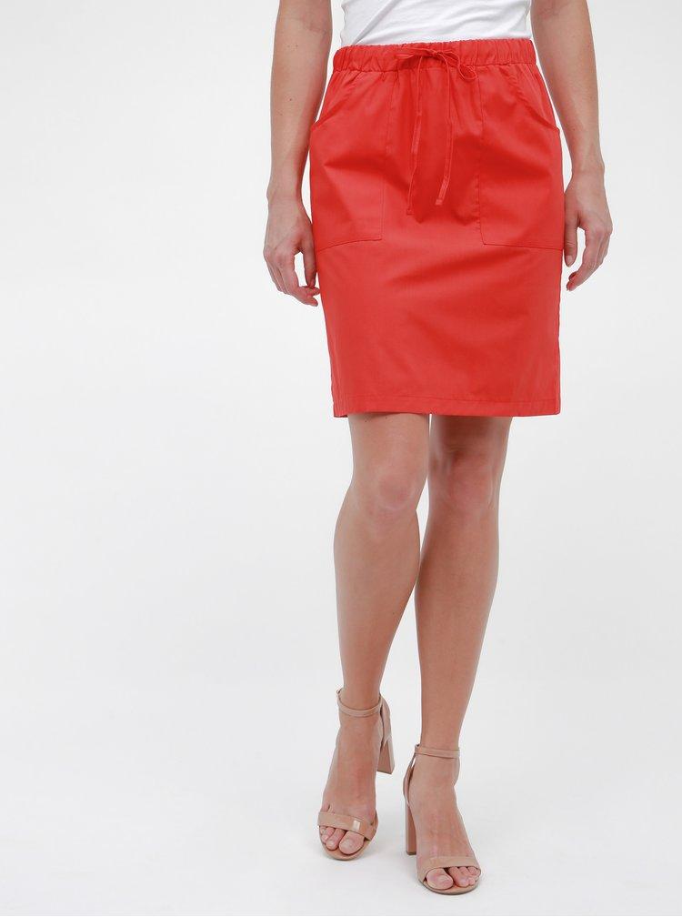 Červená sukně ZOOT Zoe