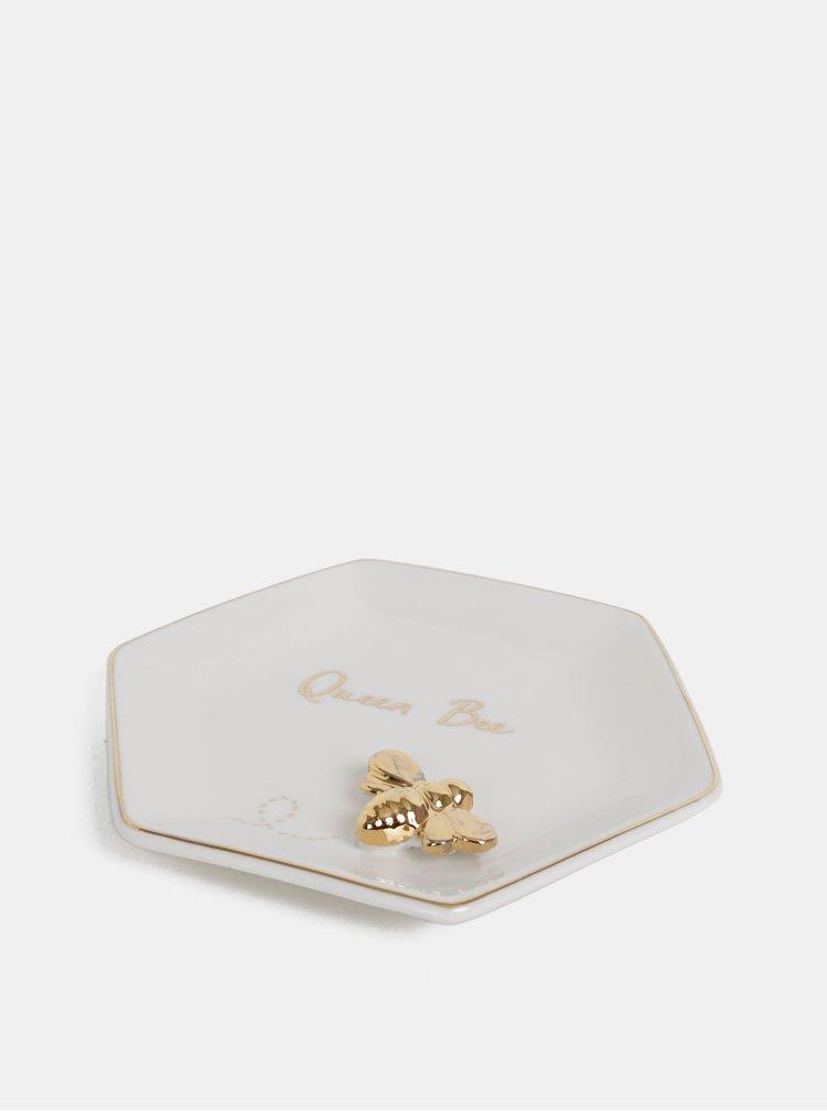 Krémový talířek na šperky Sass & Belle