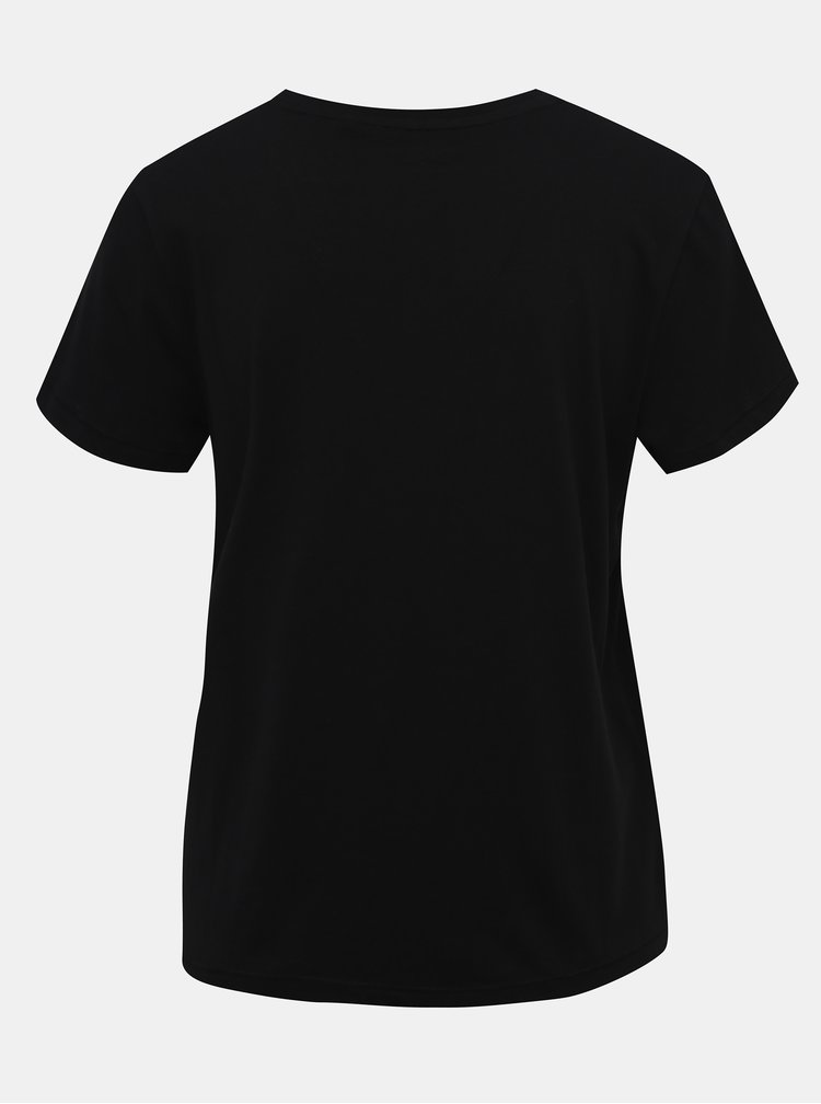 Čierne basic tričko ONLY Russy