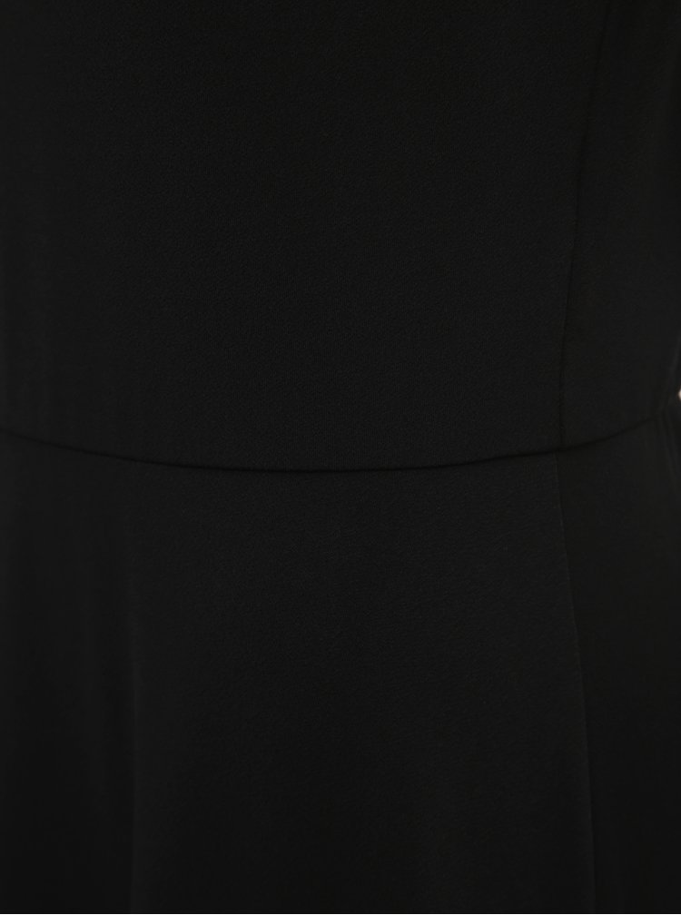 Čierne šaty s krajkou VERO MODA Donika