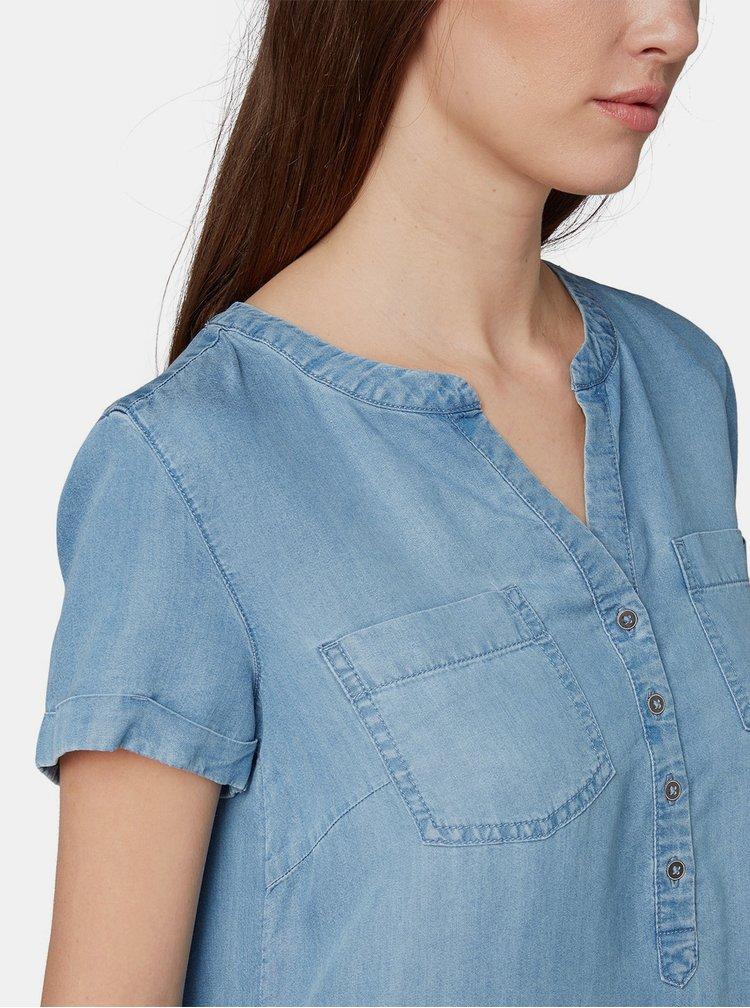Modré rifľové šaty Tom Tailor