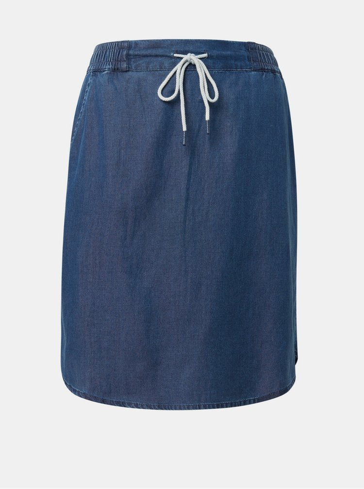 Tmavě modrá sukně Tom Tailor