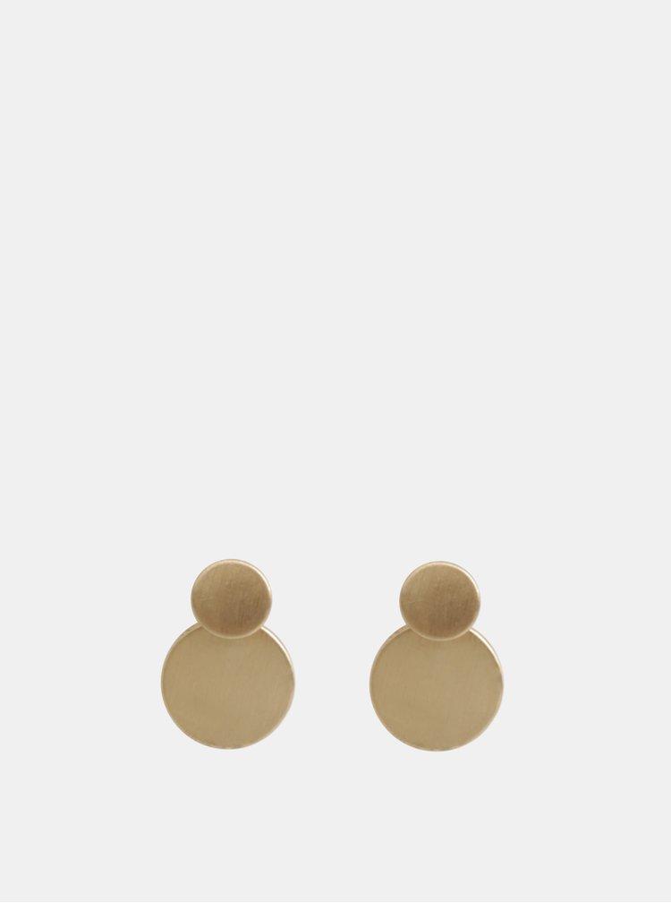 Sada dvoch párov náušníc v zlatej farbe ONLY Neel