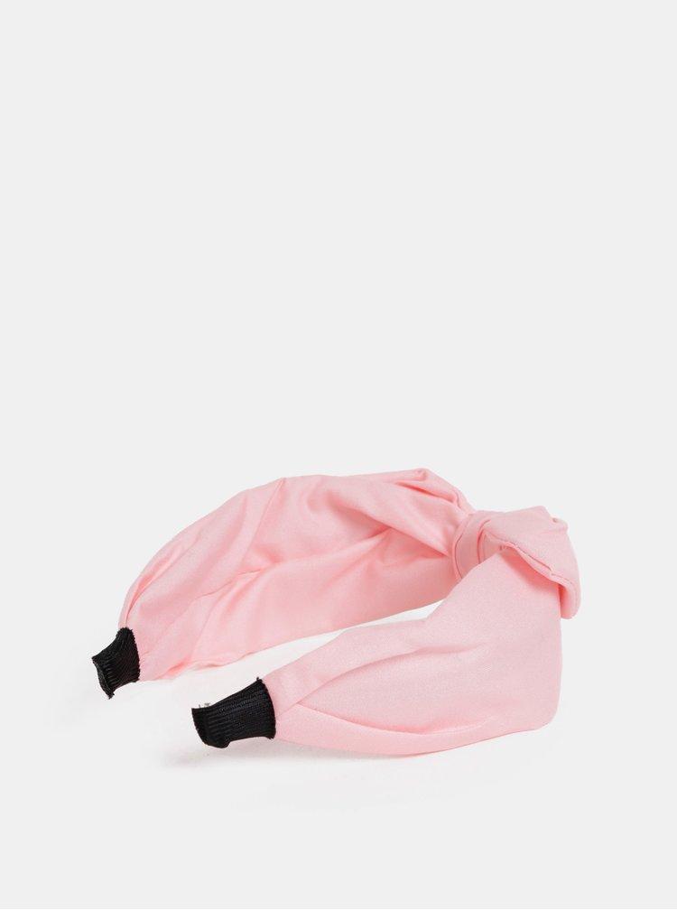Sada dvou růžových čelenek ONLY Katie