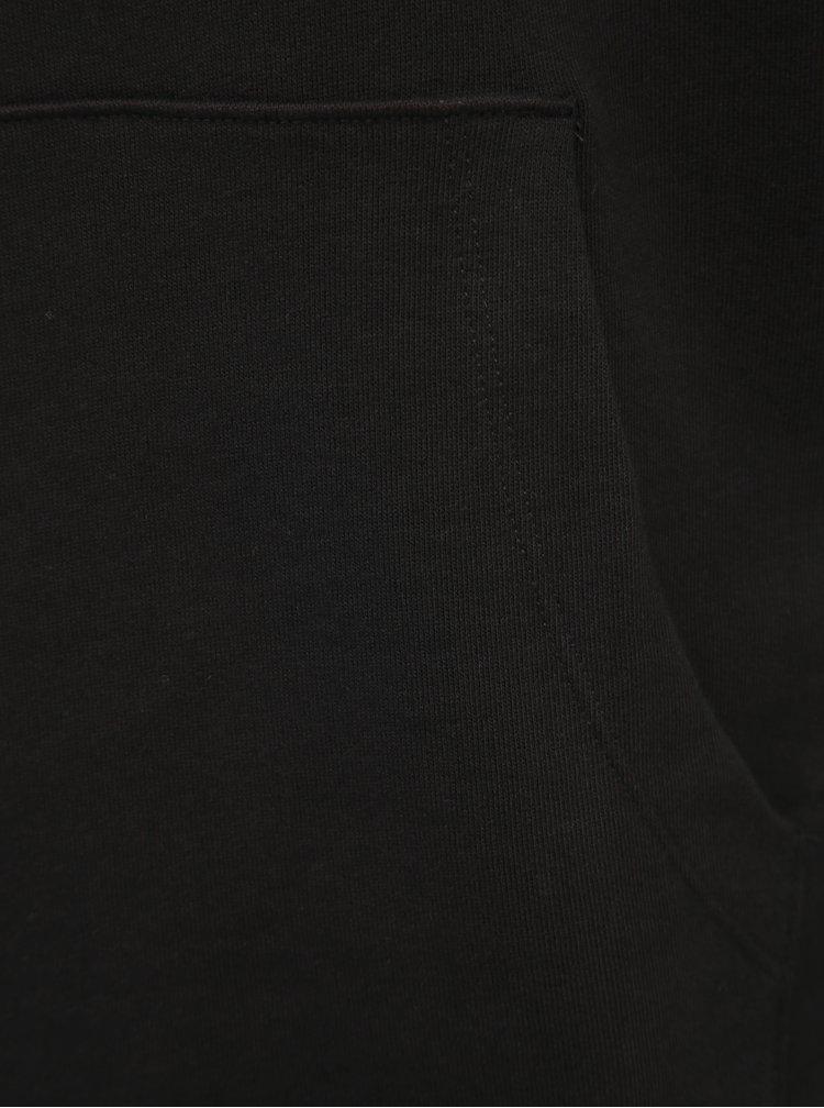Černá basic mikina Jack & Jones Holem