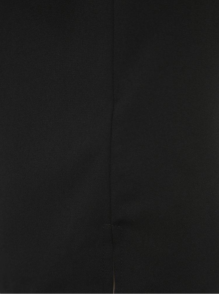 Černé tílko VILA Scallopa
