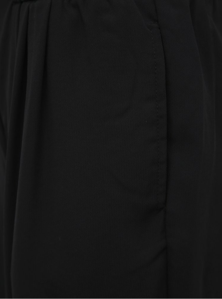 Černé zkrácené kalhoty VILA Iris