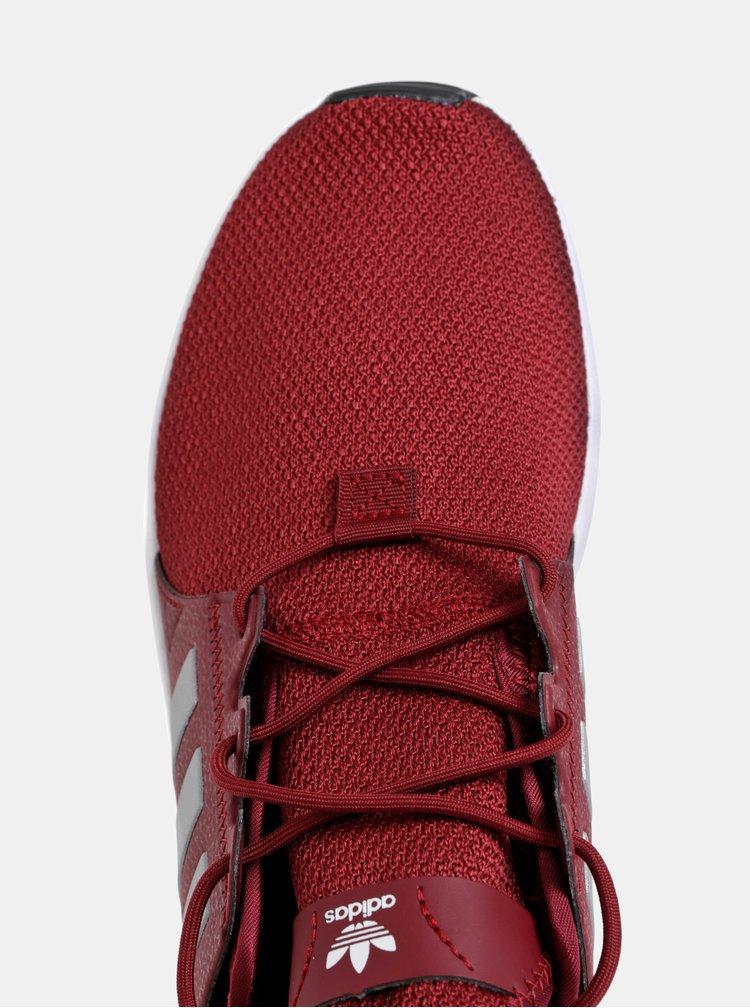 Vínové pánské tenisky adidas Originals X PLR