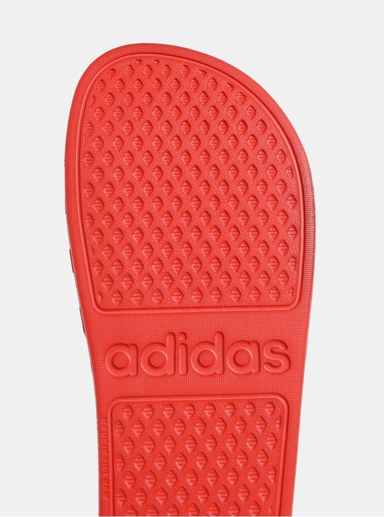 Červené dámske šľapky adidas CORE Adilette