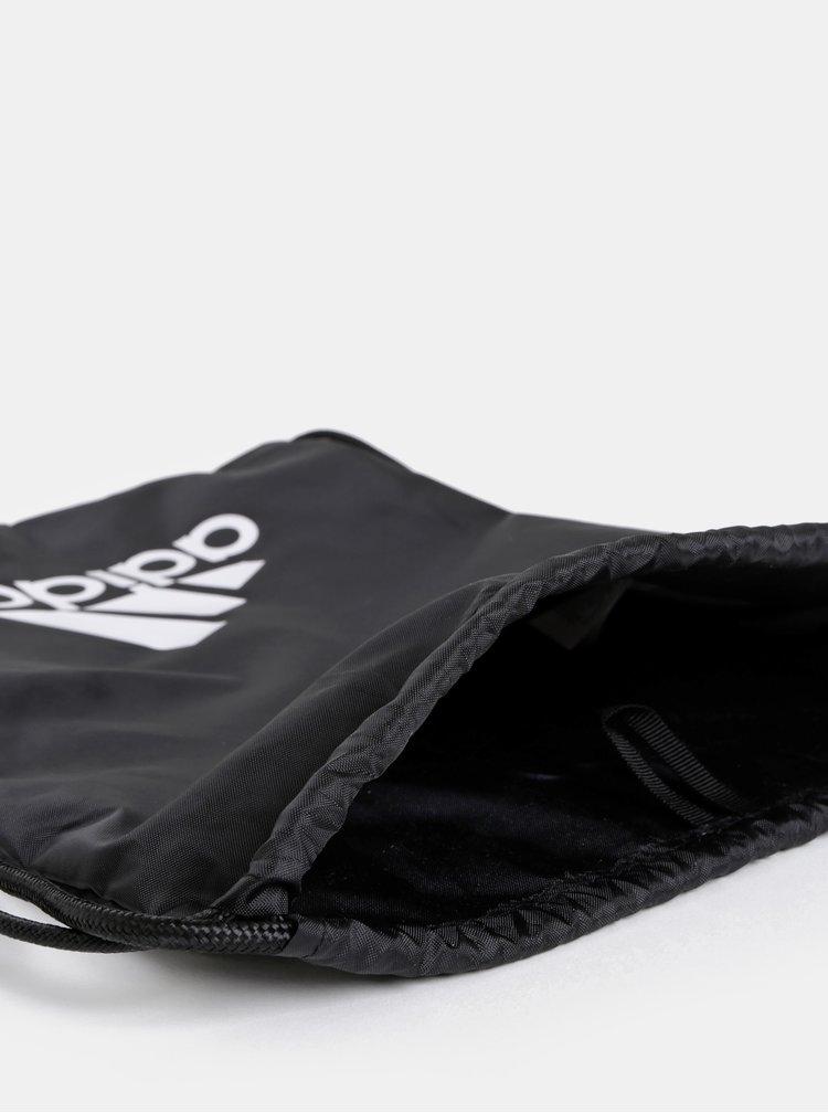 Černý vak s potiskem adidas Performance Tiro