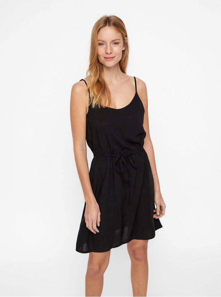 Černé šaty VERO MODA Simply