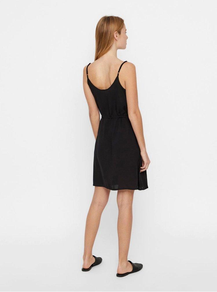 Čierne šaty VERO MODA Simply