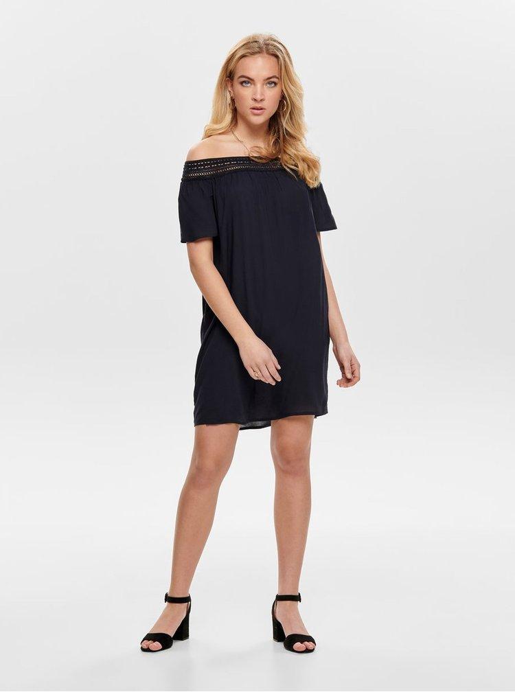 Tmavomodré šaty Jacqueline de Yong Famous