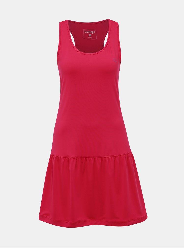 Rúžové šaty LOAP Mersika