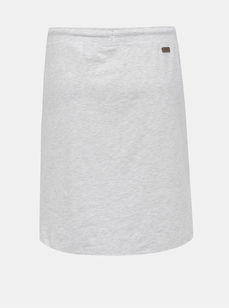 Šedá žíhaná basic sukně LOAP Nirvana