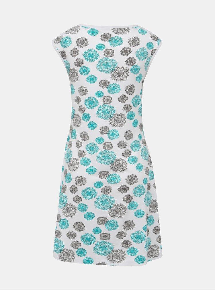 Modro-bílé vzorované šaty LOAP Adenka