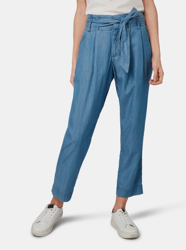 Modré dámske nohavice Tom Tailor Denim