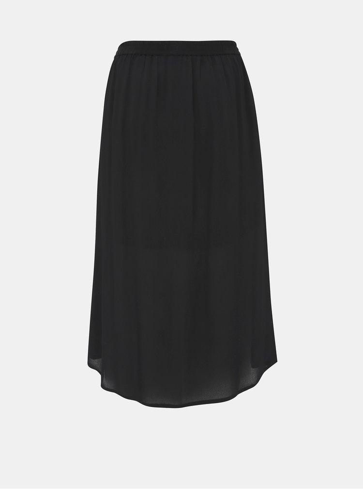 Černé maxi sukně Zizzi Dasy