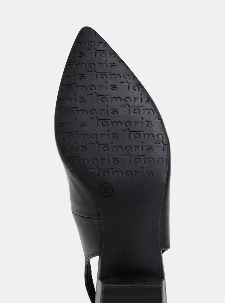 Černé lodičky Tamaris