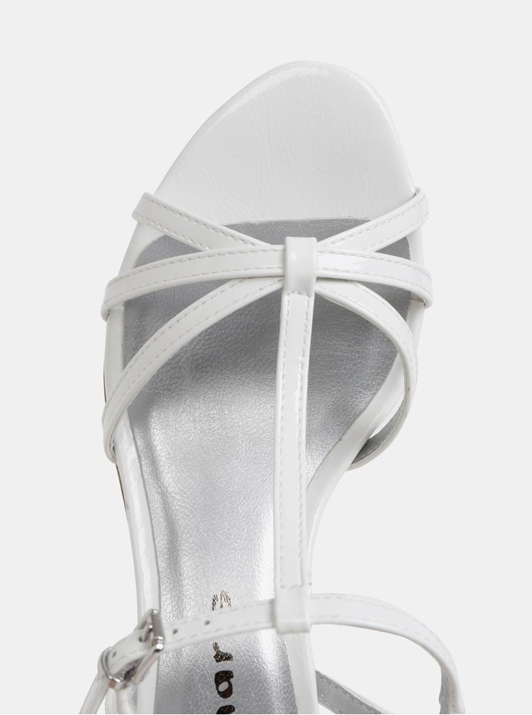 Bílé sandálky Tamaris