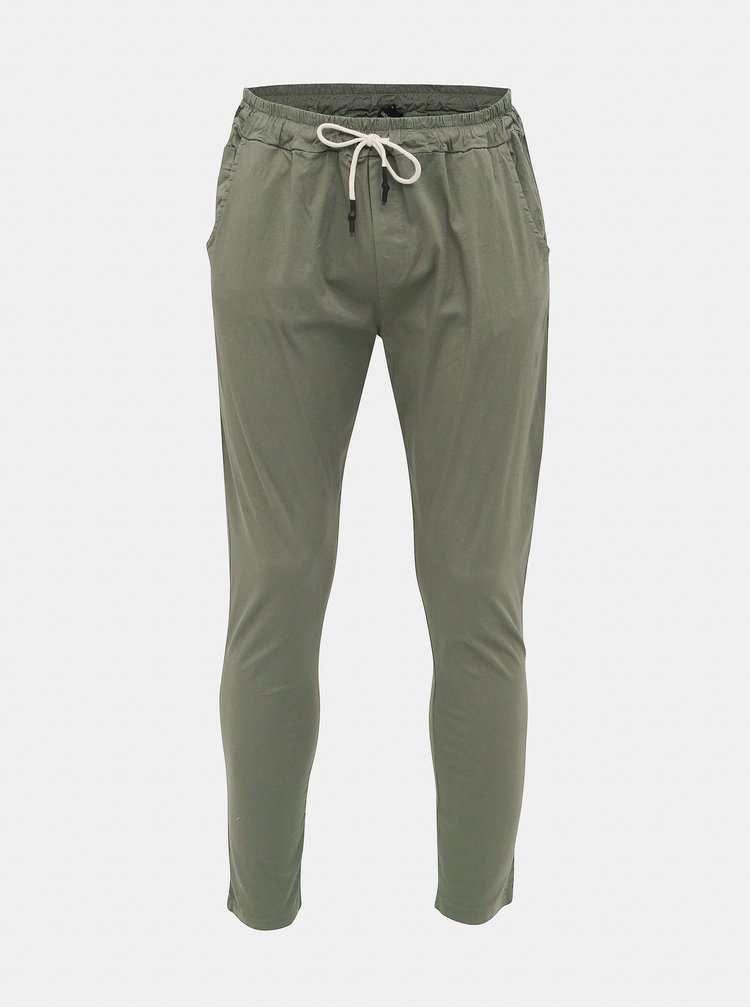 Kaki pánske kalhoty Haily´s Pepe