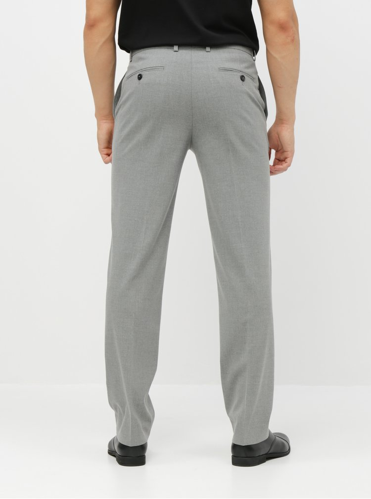 Pantaloni formali gri tailored fit Burton Menswear London