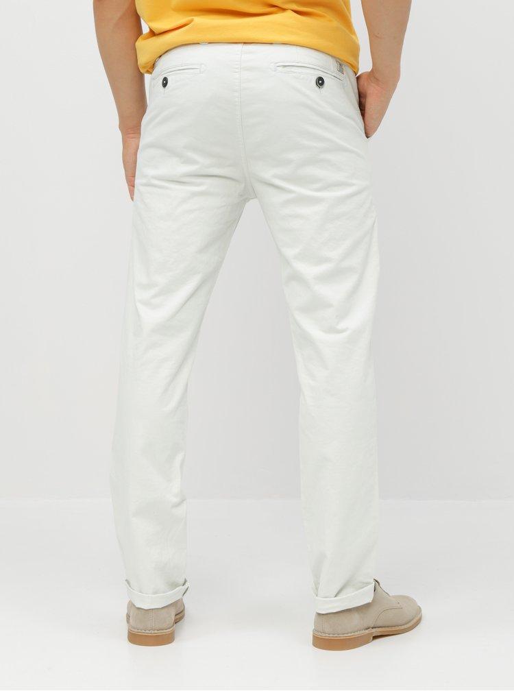 Pantaloni crem chino cu curea Dstrezzed Presley