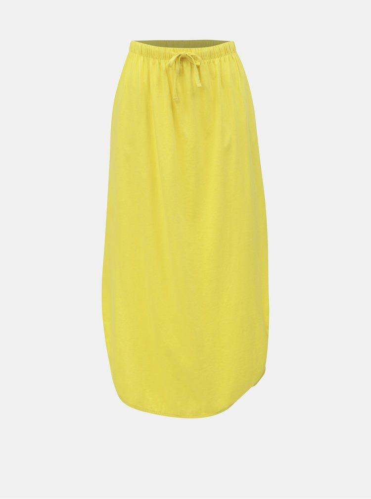 Žlutá maxi sukně Jacqueline de Yong Austin