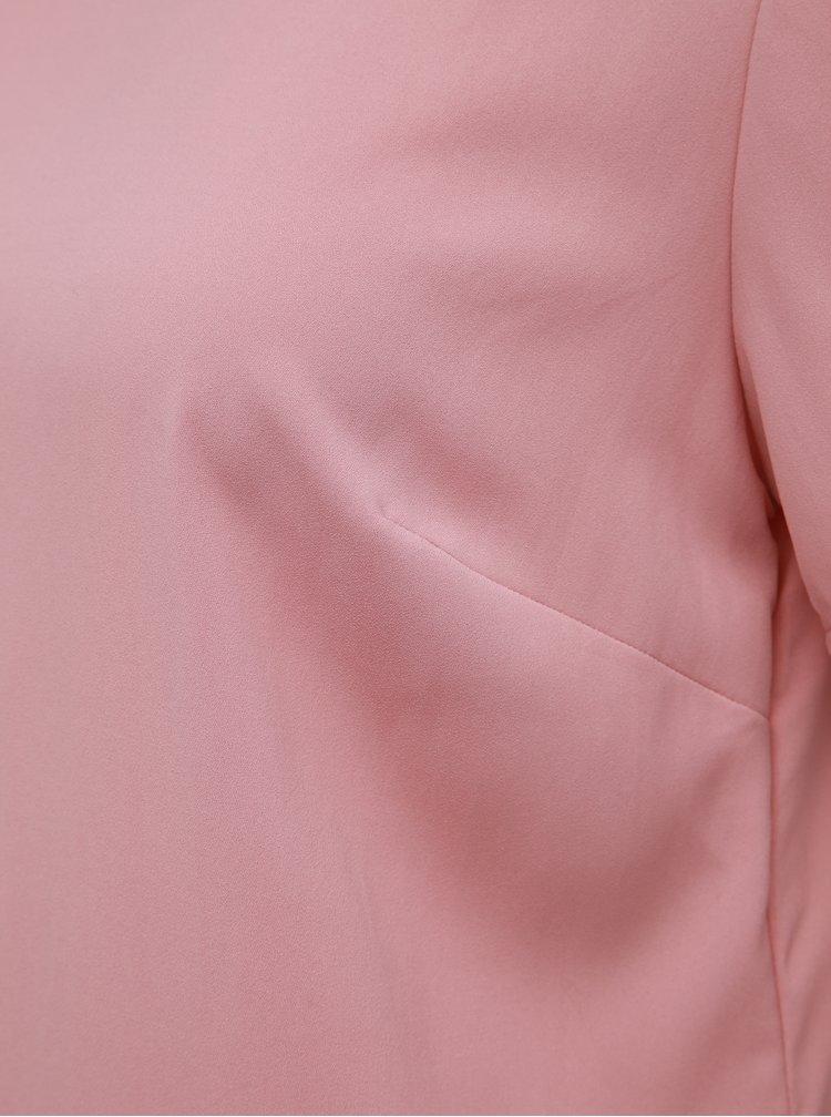 Rúžové šaty Dorothy Perkins