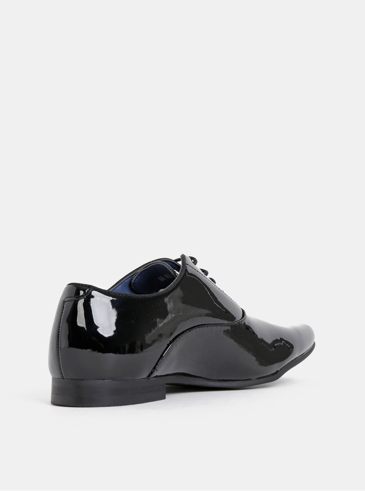 Černé polobotky Burton Menswear London