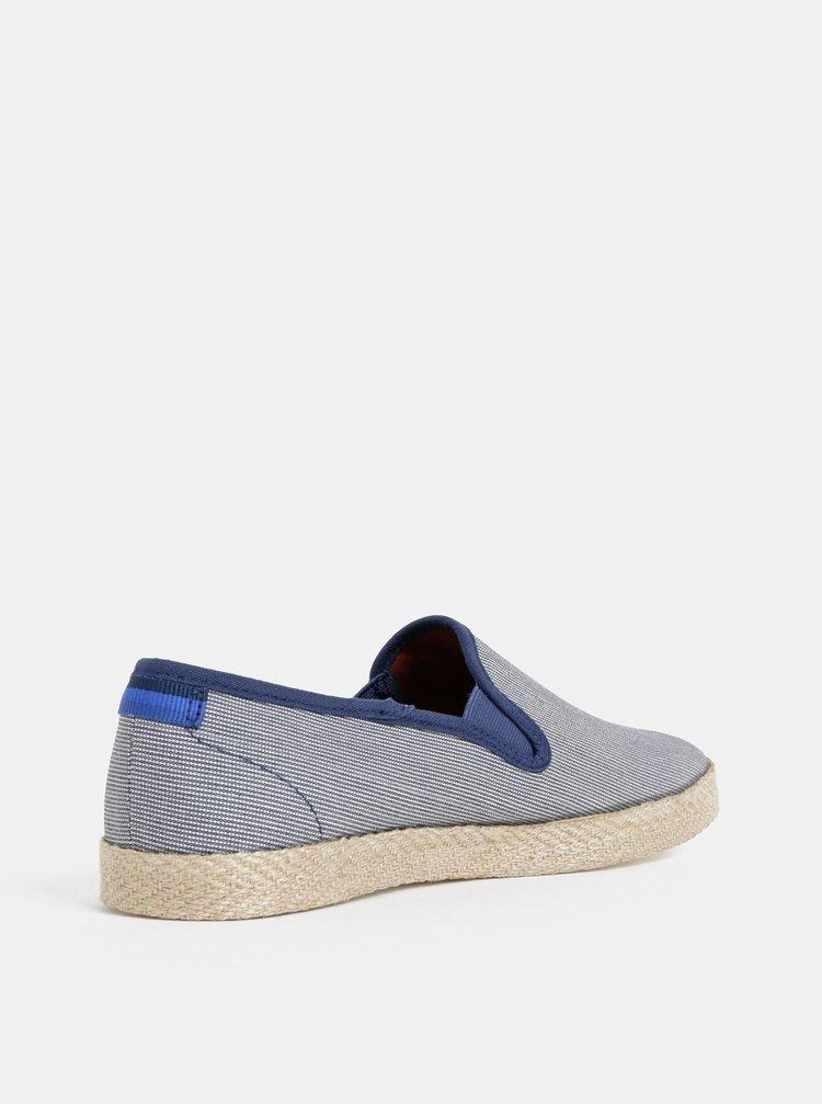 Modré espadrilky Burton Menswear London