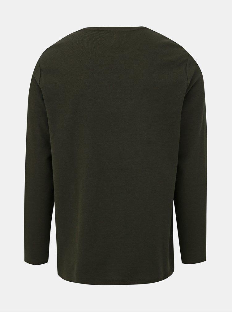 Kaki tričko Burton Menswear London