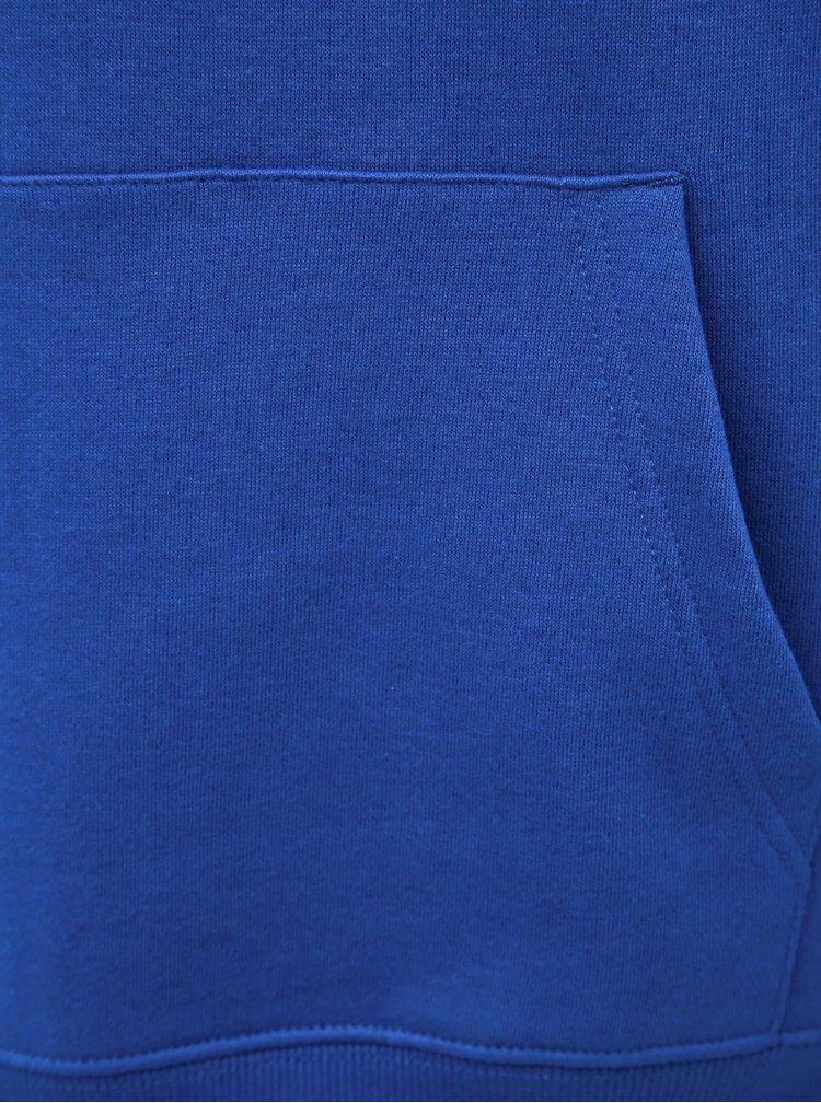 Modrá mikina Burton Menswear London