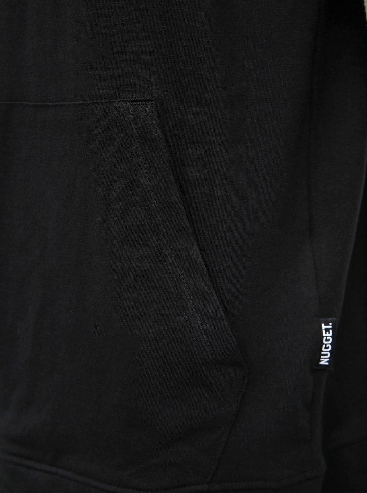 Šedo-černá pánská mikina NUGGET Flex