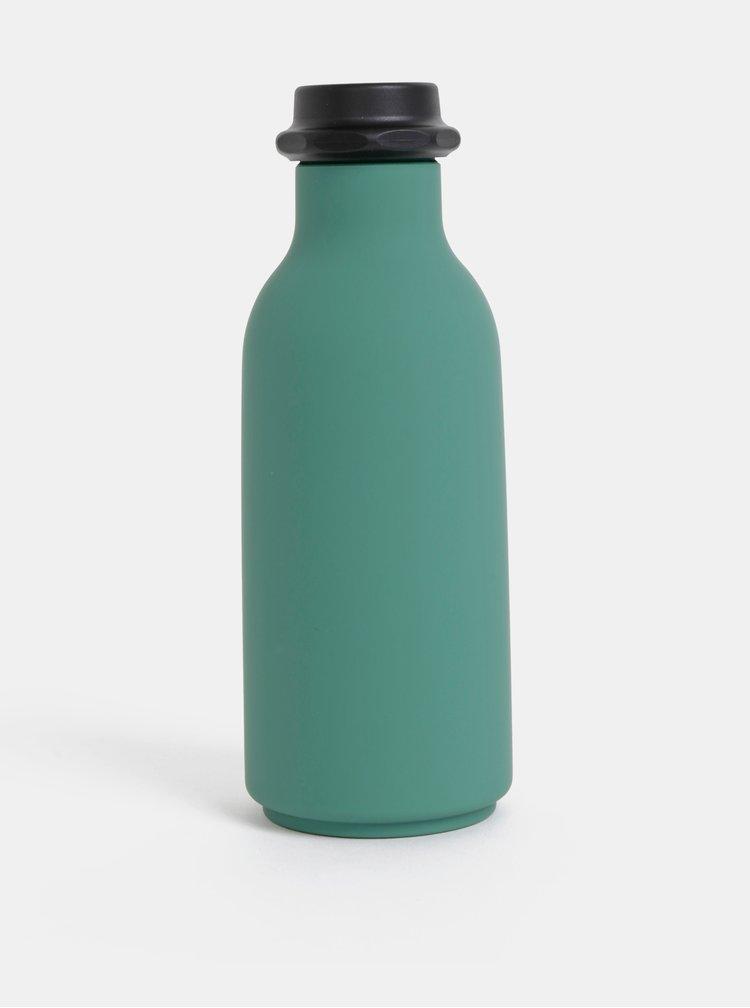 Zelená láhev na pití Design Letters To Go 500 ml