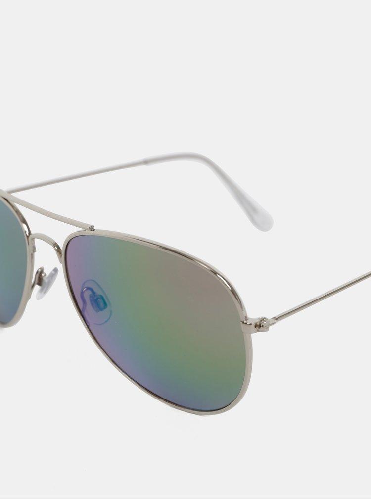 Sluneční brýle ve stříbrné barvě Dorothy Perkins
