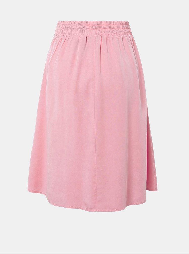 Růžová sukně Tom Tailor