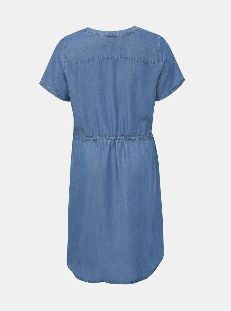 Modré džínové šaty Zizzi Nova