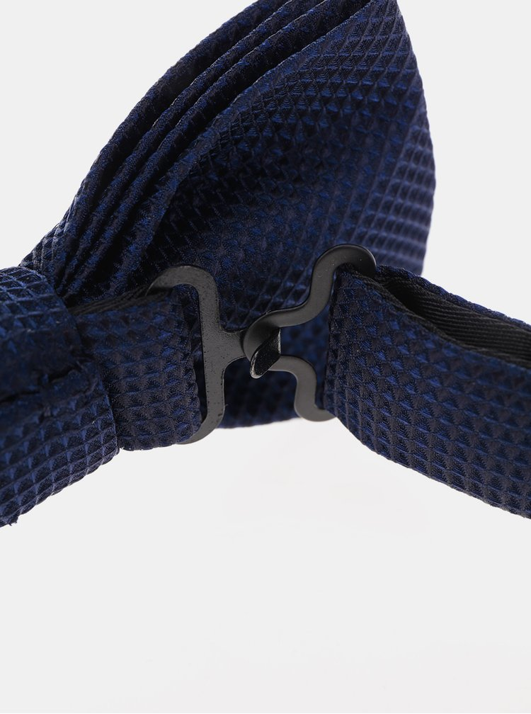 Tmavě modrý motýlek s jemným vzorem Jack & Jones Premium Colombia
