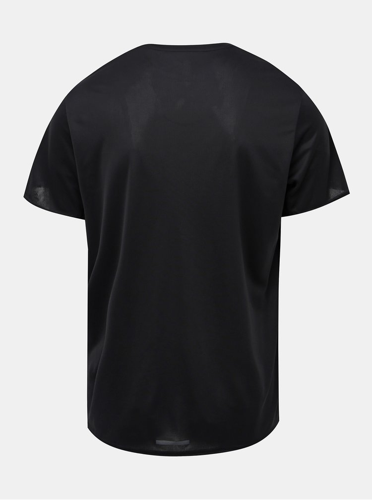 Čierne pánske funkčné tričko adidas Performance