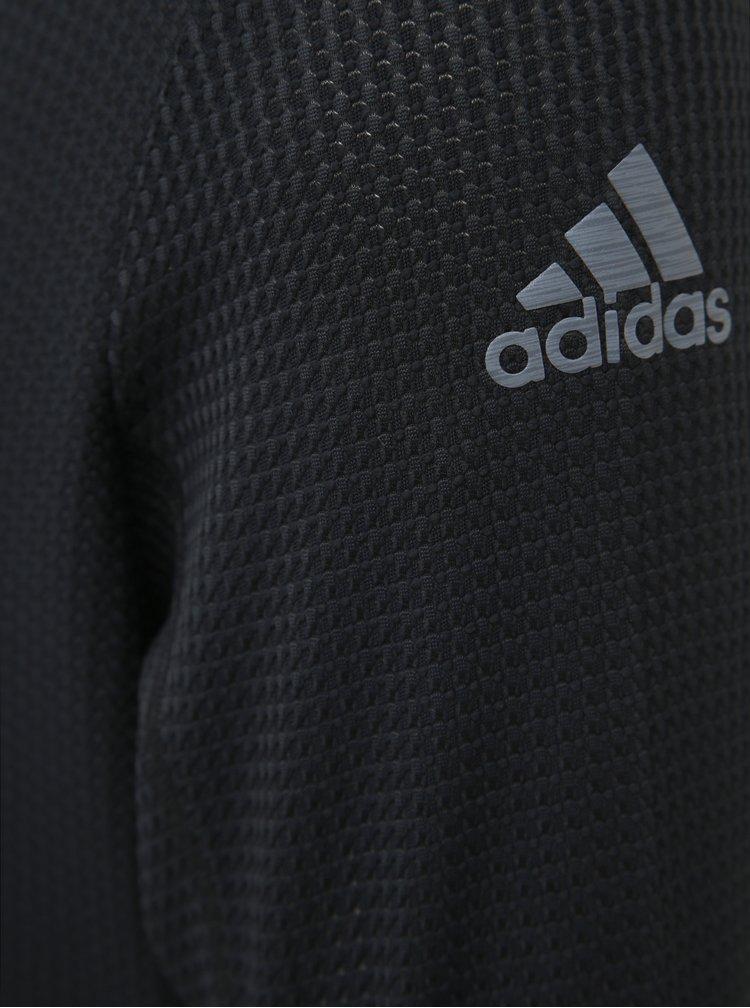 Čierna pánska funkčná mikina adidas Performance