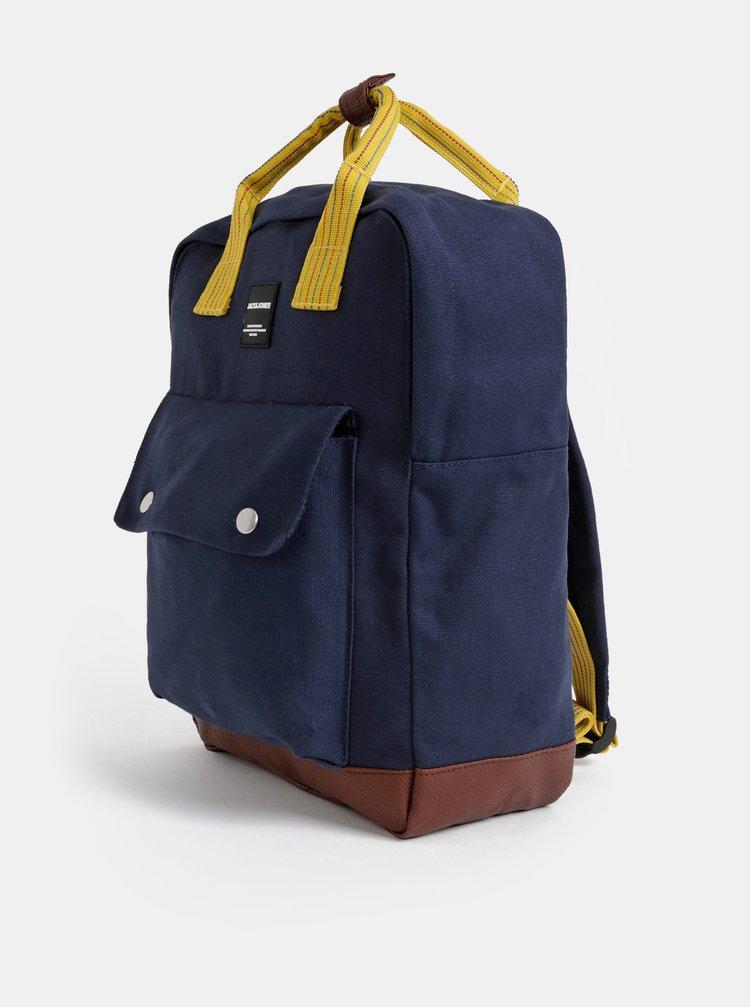 Tmavě modrý batoh Jack & Jones Square