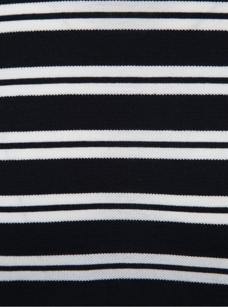 Bielo-modré pruhované basic tričko Jack & Jones Logan
