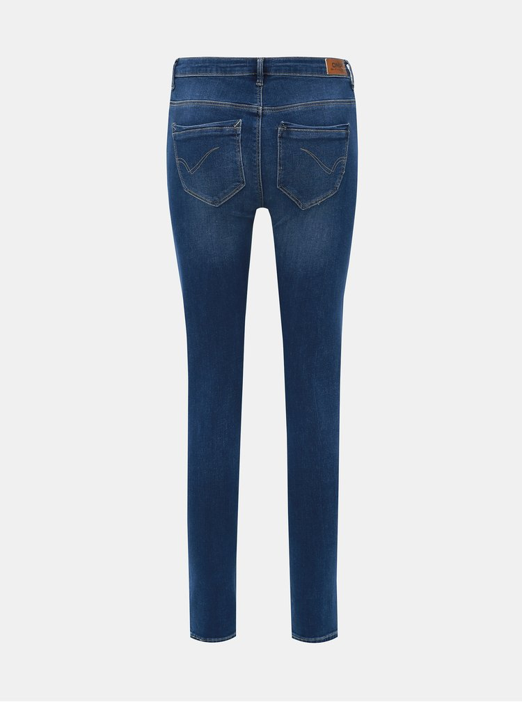 Modré skinny fit rifle ONLY Paola