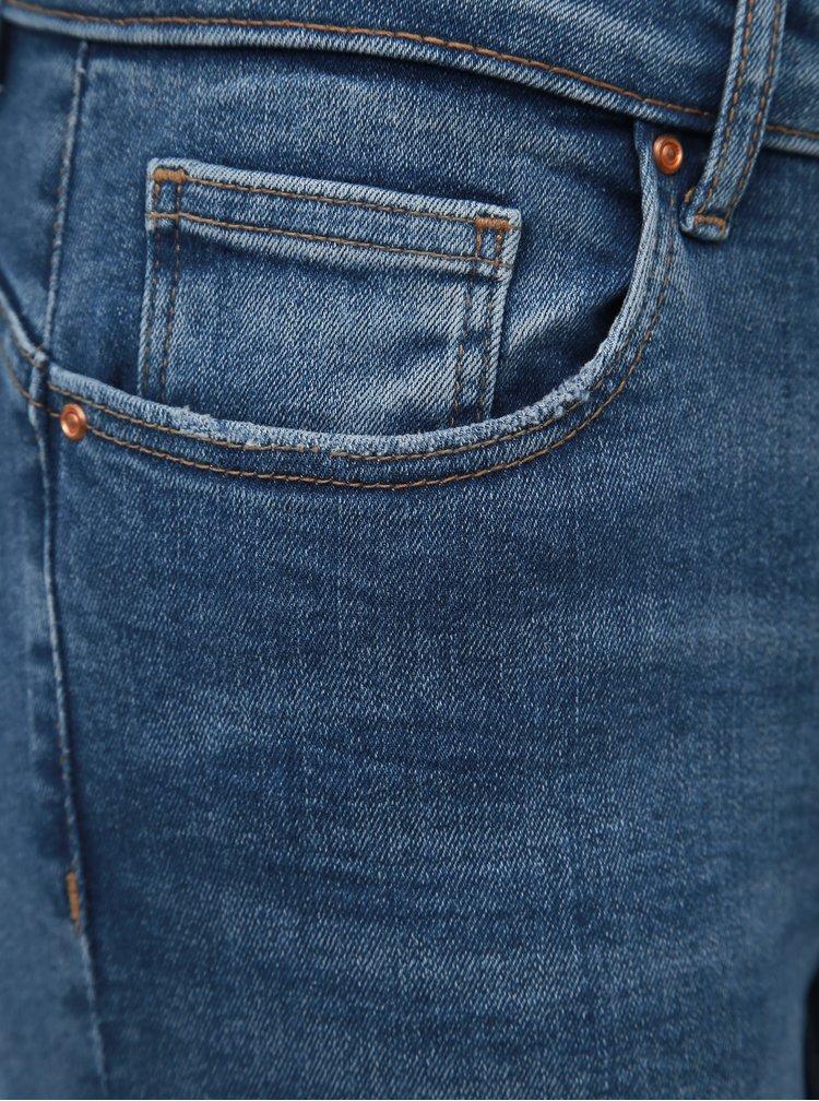 Modré slim fit džíny ONLY Feva