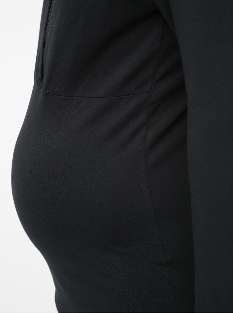 Sada dvou černých těhotenských/kojicích basic triček Mama.licious Lea