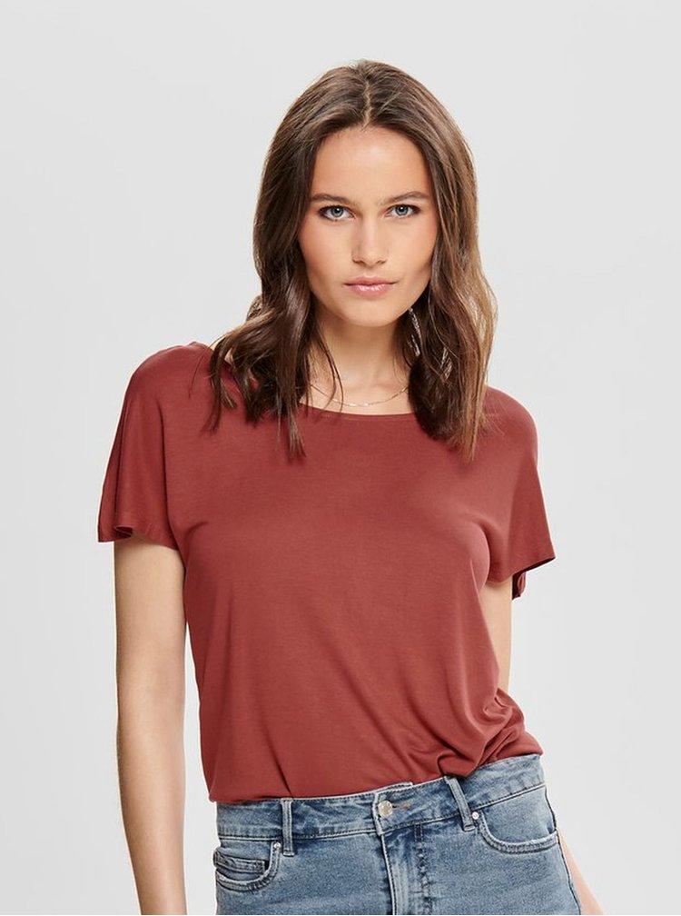 Tehlové tričko ONLY Carrie