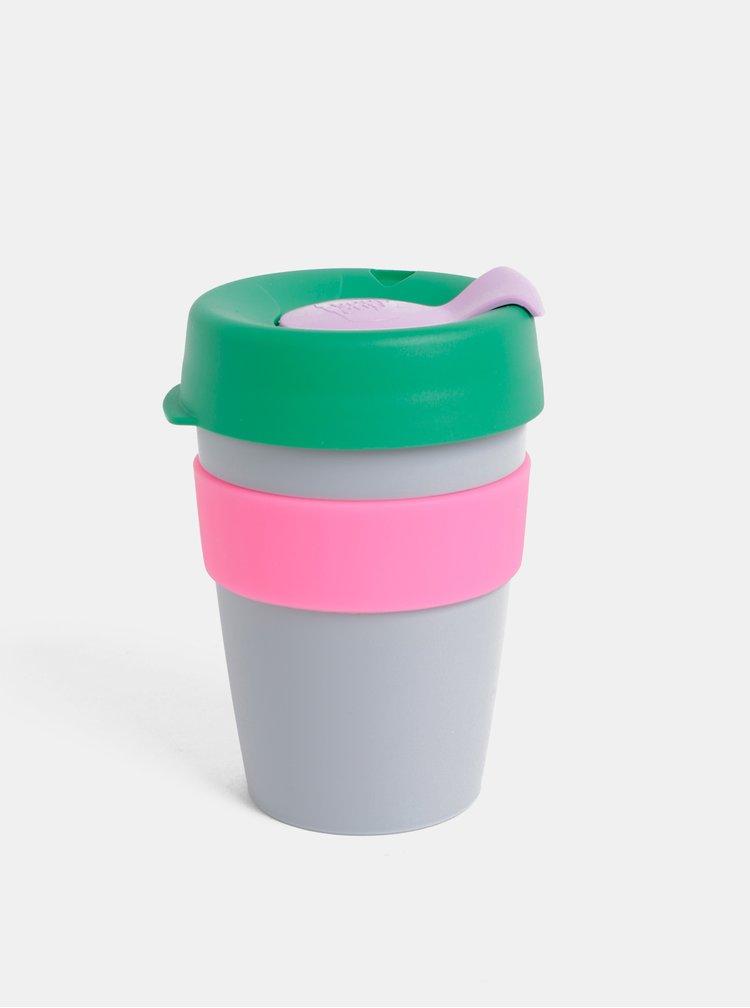 Zeleno-šedý cestovní hrnek KeepCup Original medium 340 ml